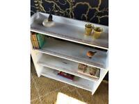 Bookcase, shabby chic style