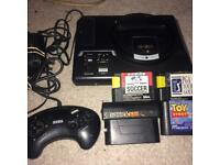 Sega Megadrive 16bit and various games