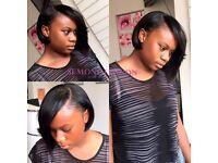 Good black hairdresser London, Brazilian hair weave, Afro Caribbean hair