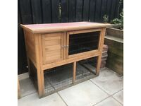 Lazy Bones 4ft double level Rabbit Hutch - LB304