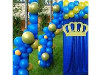 VENUE DECORATING BALLOON ARCH,COLUMN,CENTERPIECE,CHAIR COVERS,TABLE CLOTH,WEDDINGS,KIDS ,EVENTS