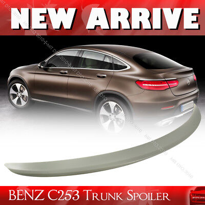 Unpainted for Mercedes Benz GLC-Class C253 X253 Coupe D Type Trunk Spoiler 2019