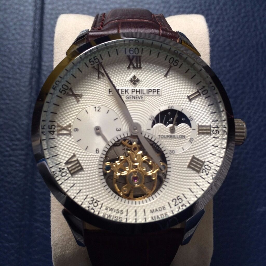Men's Patek Philippe Geneve Tourbillon Watch