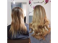 HAIR EXTENSIONS SPECIALIST CENTRAL LONDON latest methods no damage