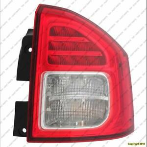 Tail Light Passenger Side High Quality Jeep Compass 2011-2013