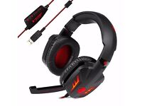 Tecknet 7.1 Dolby Surround Sound PC Headphones