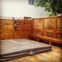 FINISHES (DECK STAINING AND CLEANING)