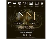 Magic Instant Selfie Mirror for Weddings & Events