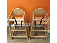 Two Highchairs