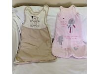 Baby Girl Sleeping Bags – 0-6 Months – Very Good Condition