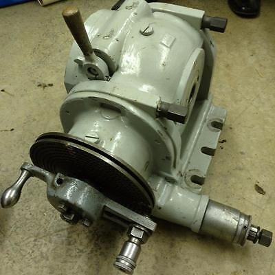 K T 51 Dividing Head 50 Taper Exc. Condition Milwaukee Kearney Trecker