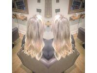 Hair extension( Miro rings and mini locks)