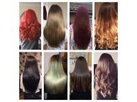 Micro ring hair extensions from £115 all enclusive, micro, nano & fusion