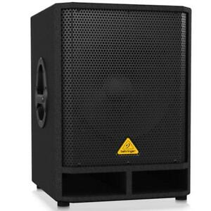 Behringer VQ1500D Powered 500-Watt 15 Subwoofer with Built-In Stereo Crossover