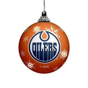 Edmonton Oilers LED Christmas Ornament (New) Canada Preview