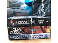 Clive Cussler Book Bundle