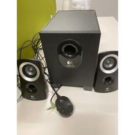 Logitech PC speaker with subwoofer