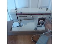 New Home Janome sewing machine zigzag/embroidery