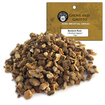 Burdock Root 1 oz Package Ritual Herb ORGANIC C/S by Grove and Grotto