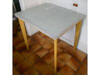 Retro Melamine Kitchen or Dining Table