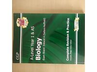 CGP EDEXCEL A-LEVEL YEAR 1 & AS BIOLOGY BOOK. BRAND NEW! NEVER USED! PERFECT FOR EFFECTIVE REVISION.