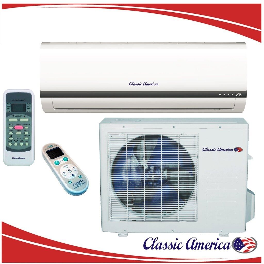12000 BTU Ductless Mini Split Air Conditioner Heat Pump 1 To