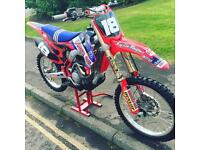 HONDA CRF 250 - 2014 model - immaculate