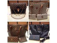 Louis Vuitton hand bags as clutch bags
