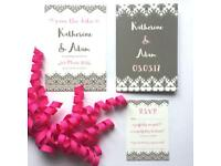 Giftast Bespoke Wedding Stationery