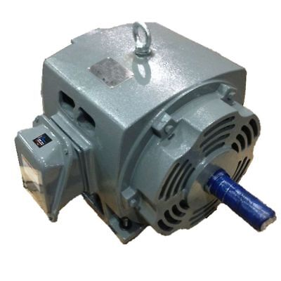 G.e. 15 Hp 1800 Rpm Odp 208230460 Volts 254t 3 Phase Motor New Surplus
