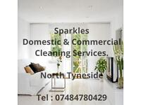 SPARKLES NORTH TYNESIDE CLEANING SERVICE