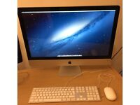 """Apple iMac i7 3.4GHz 27"""" in Excellent Condition"""