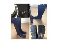 Brand nee knee high boots size 6