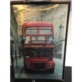 Hologram London bus picture