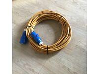 Caravan/motorhome. 240v hook up cable