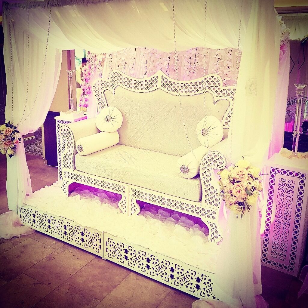 Wedding/Engagement/Mendhi Stage   Backdrops / Bridal Sofas / Throne Chairs  / Stage Set Up