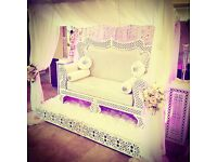Wedding/Engagement/Mehndi Stage - Backdrops / Bridal Sofas / Throne Chairs / Stage Set Up