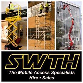 Scissor Lift & Cherry Picker Hire in Bristol & Bath - SWTH