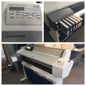"""Professional large-format digital colour printing (44"""") from Epson"""