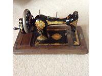 Jones' sewing machine