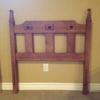 Headboard for single bed