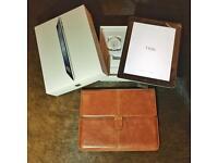 iPad 2 64GB WiFi Black & leather case