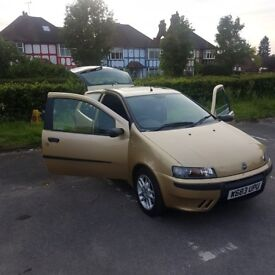 FIAT Punto with only 52K miles