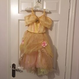 Belle Disney dress and shoes