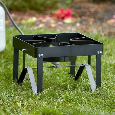 square single burner outdoor patio stove range