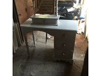 3 Drawer Dressing Table With Mirror