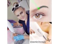 Permanent make up and laser tattoo removal