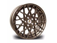 "x4 18"" Stuttgart ST10 Alloy Wheels 5x100 Et35 Bronze Audi TT A3 VW Golf Bora"