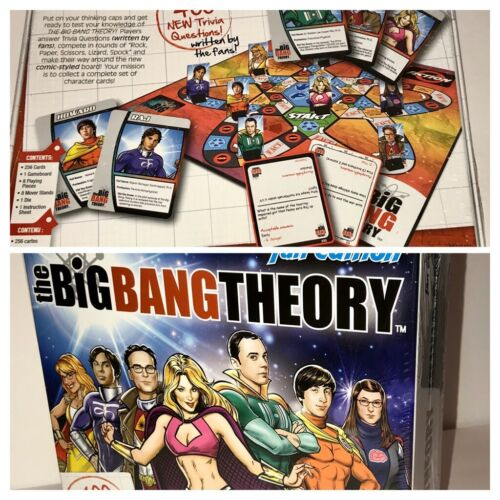 The Big Bang Theory Trivia Board Game - Fan Edition Brand New Sealed  - $14.99