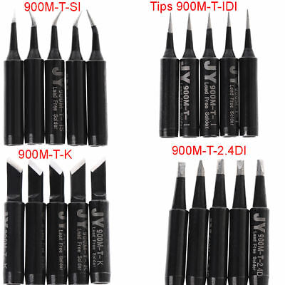 5x Solder Soldering Iron Tip 900m-t-si Lead Free For Hakko Saike 936 852d 909d